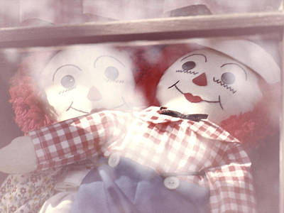 Raggedy Photograph - Raggedy Ann And Andy by Garry McMichael