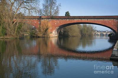 Maidenhead Photograph - Railway Bridge  by Andrew  Michael