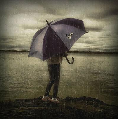 Rain Day 2 Print by Heather  Rivet
