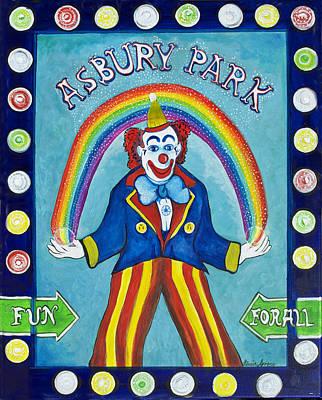 Asbury Park Painting - Rainbow Billy by Patricia Arroyo