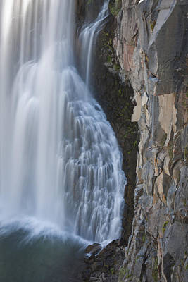 Devils Postpile Photograph - Rainbow Fall by Olivier Steiner