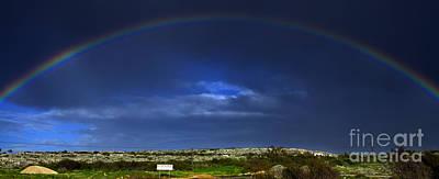 Cyprus Photograph - Rainbow by Stelios Kleanthous