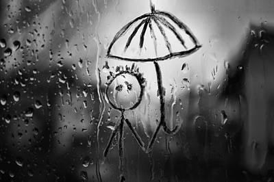 Raining Again Print by Sunkies Fang