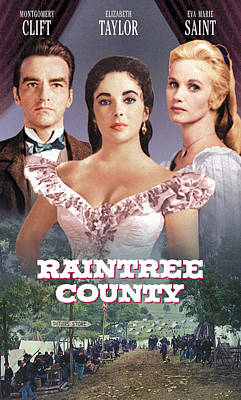 Raintree County, Montgomery Clift Print by Everett