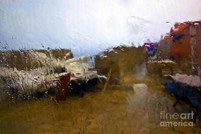 Rainy Day Photograph - Rainy Day Abstract by Madeline Ellis