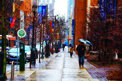 Rainy Day Feeling Print by Bill Cannon