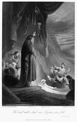 Raising Photograph - Raising Of Lazarus by Granger