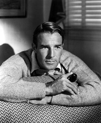 Randolph Scott, Paramount Pictures, 1937 Print by Everett