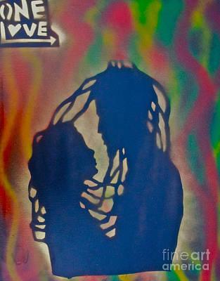 Tony B. Conscious Painting - Rasta Love by Tony B Conscious