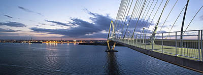 Ravenel West - Panoramic Print by Donni Mac