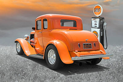 Ready To Cruise Print by Stephen Warren
