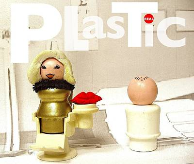 Real Plastic Print by Ricky Sencion