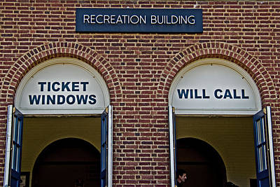 Rec Hall Print by Tom Gari Gallery-Three-Photography