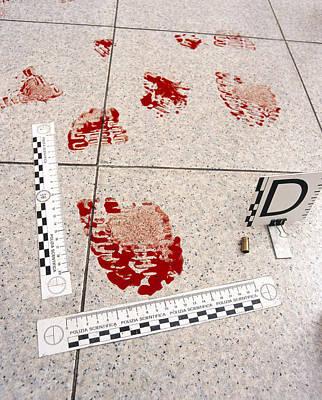 Recording Evidence Print by Mauro Fermariello