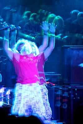 Van Halen Photograph - Red Alien by Dennis Jones