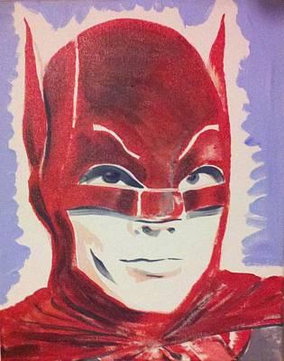 Red Batman Original by Ronald Greer
