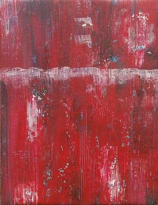 Abstract Painting - Red by Jeff Montgomery