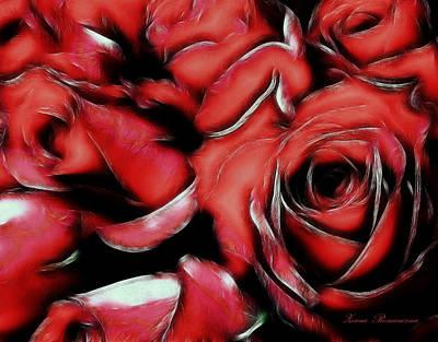 Wife Mixed Media - Red Passion by Georgiana Romanovna