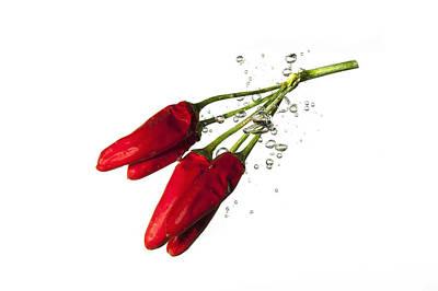 Red Pepper Print by Alessandro Matarazzo
