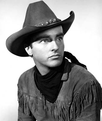 Red River, Montgomery Clift, 1948 Print by Everett