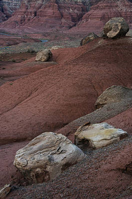 Red Rock Desert Print by Dave Dilli