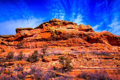 Denver Photograph - Red Rocks Park Colorado Iv by David Patterson