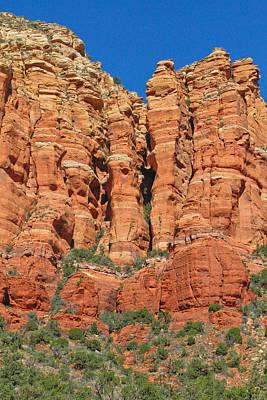 Red Rocks Print by Wayne Stabnaw