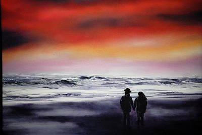Red Sky Original by Johanna Larson