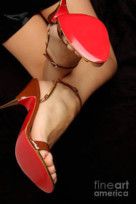 Sexy Soles Photograph - Red Soles by Deelite Photography