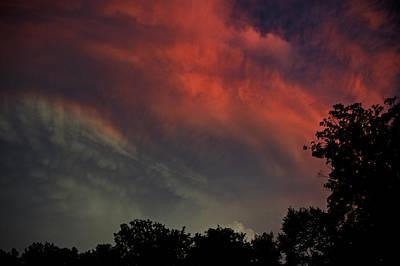 Evening Photograph - Red White And Blue by LeeAnn McLaneGoetz McLaneGoetzStudioLLCcom