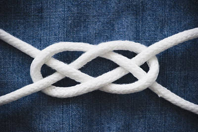 Y120907 Photograph - Reef Knot by Jamie Grill