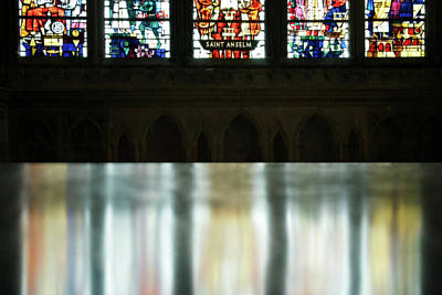 English Cathedrals Photograph - Reflecting On The Beauty Of Canterbury Cathedral by Lisa Knechtel