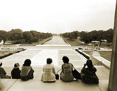 Reflecting On The Reflecting Pool Original by Jan W Faul