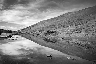 Sierra Nevada Photograph - Reflection Of Thaw by Guido Montanes Castillo