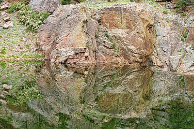 Reflections In The Colorado Rocky Mountains  Print by James BO  Insogna