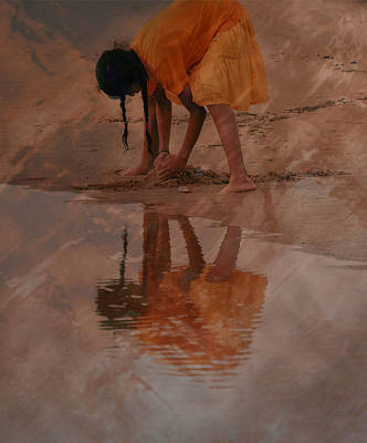 Reflections Of India Print by Trish Tritz