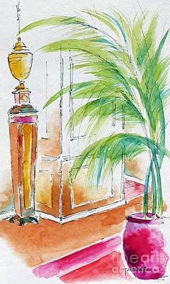 Pottery Painting - Regatta Reception by Pat Katz