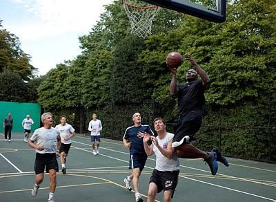 Reggie Photograph - Reggie Love President Barack Obamas by Everett