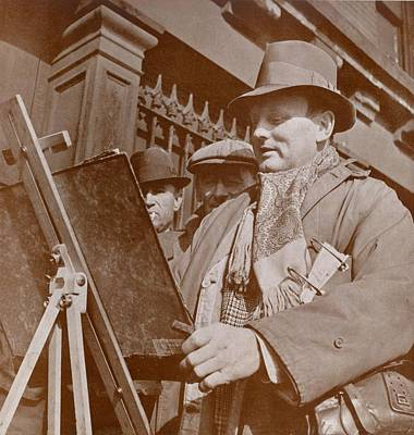 Realist Photograph - Reginald Marsh 1898-1954 American by Everett