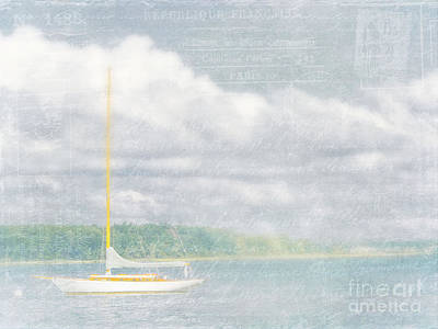 Remembering Ethereal Days Print by Cheryl Butler