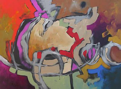 Award Winning Artist Painting - Reminiscence by Linda Monfort