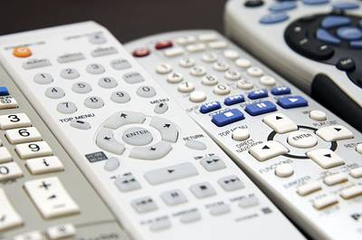 Tele Photograph - Remote Controls by Johnny Greig