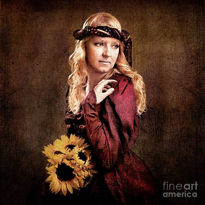 Women Photograph - Renaissance Portrait by Cindy Singleton
