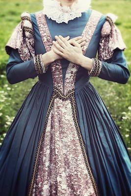 Renaissance Princess Print by Joana Kruse