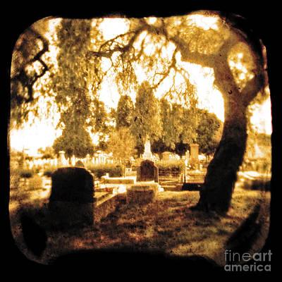 Gravestone Photograph - Repose by Andrew Paranavitana