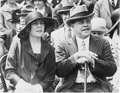 Representative And Mrs. Nicholas Print by Everett