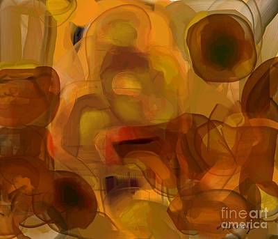 Digital Art - Resisting Temptations by D Perry