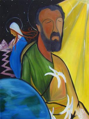 Joeseph Painting - Responsibility  by Nicholas De Sena