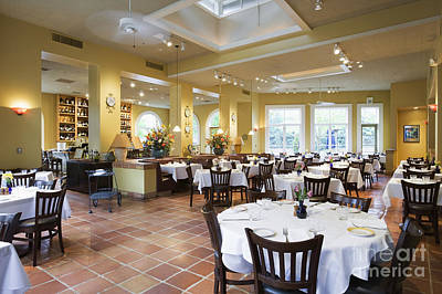Dining Out Photograph - Restaurant by Andersen Ross