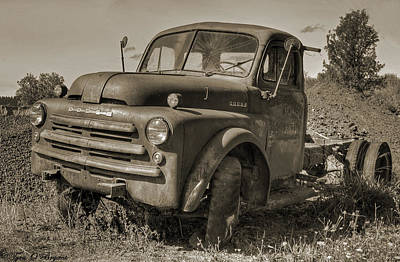 Antique Photograph - Retired by Tyra  OBryant
